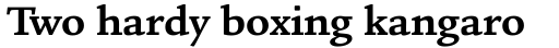 Legacy Square Serif Std Bold sample