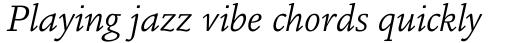 Legacy Square Serif Std Book Italic sample