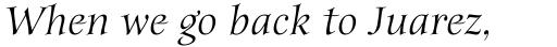 Anima Italic sample