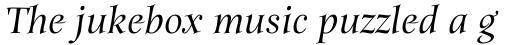 Anima Medium Italic sample