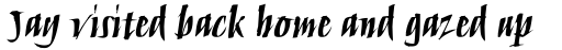 Humana Script Pro Bold sample