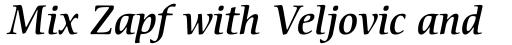 ITC Cerigo Pro Medium Italic sample