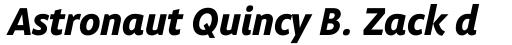 Obliqua Std Bold Italic sample