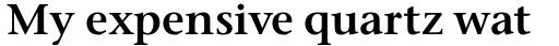 Stone Serif Pro SemiBold sample