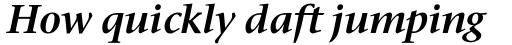 Stone Serif Pro SemiBold Italic sample