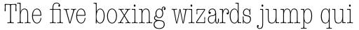 American Typewriter Pro Light Condensed sample