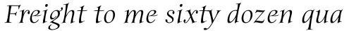Anima Std Italic sample