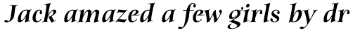 Anima Std Black Italic sample