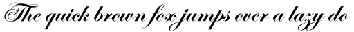 Edwardian Script Pro Bold sample