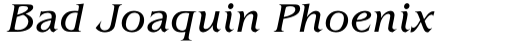 ITC Benguiat Pro Book Italic sample