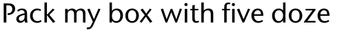 Stone Sans Pro Medium sample