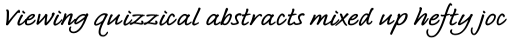 Bradley Type Pro Bold Italic sample