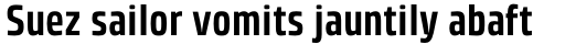 Klint Std Bold Condensed sample