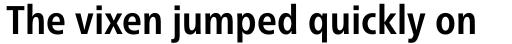 Neue Frutiger Pro Condensed Bold sample