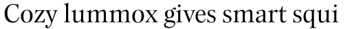 New Esprit Pro Display Regular sample