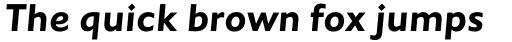 Johnston Pro Bold Italic sample