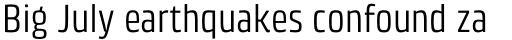 Klint Pro Condensed sample