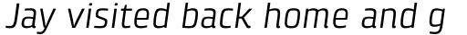 Klint Pro Italic sample