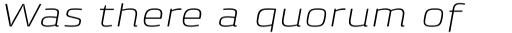 Klint Pro Light Extended Italic sample