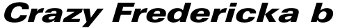 Linotype Univers 841 Extended Black Italic sample