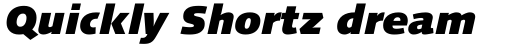 Linotype Syntax Black Italic OsF sample