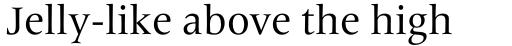 Frutiger Serif Pro sample