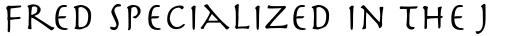 Herculanum Pro Roman sample
