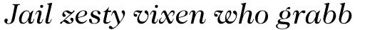 Caslon 224 Book Italic sample