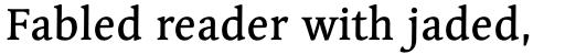 Linotype Syntax Serif Std Medium sample