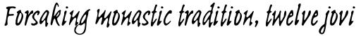 Linotype Sketch Pro sample