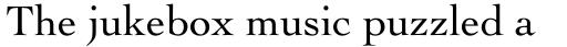 Cochin Pro Roman sample
