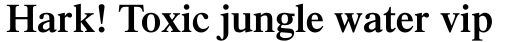 Times Pro SemiBold sample
