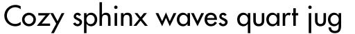 Futura Pro Medium sample