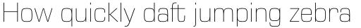 Eurostile Next Pro UltraLight sample