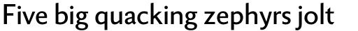 Berling Nova Sans Pro Regular sample