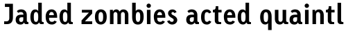 Linotype Tetria Pro Bold sample
