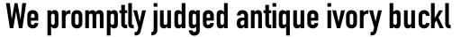 DIN 1451 Com EngSchrift sample