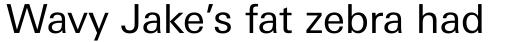 Linotype Univers Com 430 Basic Regular sample