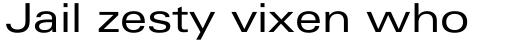 Linotype Univers Com 440 Extended Regular sample