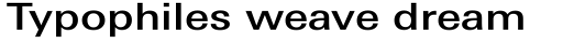 Linotype Univers Com 530 Basic Medium sample
