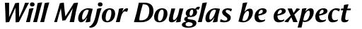 Aeris Pro Title B Bold Italic sample