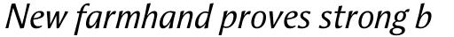 Aeris Std A Italic sample
