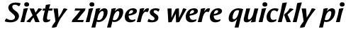 Aeris Std B Bold Italic sample