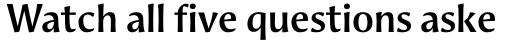 Aeris Std Title A Bold sample