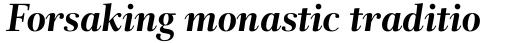 Rabenau Std Bold Italic sample