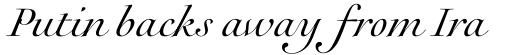 Rameau Pro Italic sample