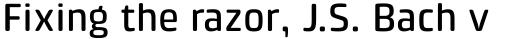 Klint Pro Rounded Medium sample