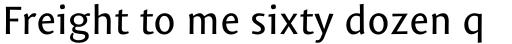 Mantika Sans Pro Cyrillic Regular sample
