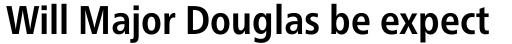 Neue Frutiger Paneuropean W1G Condensed Bold sample