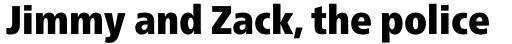 Neue Frutiger Pro Cyrillic Condensed ExtraBlack sample